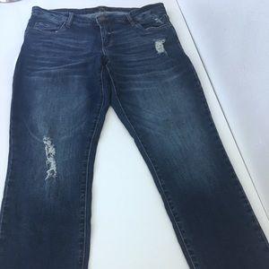 NWOT SBS blue Taylor straight leg jeans size 28